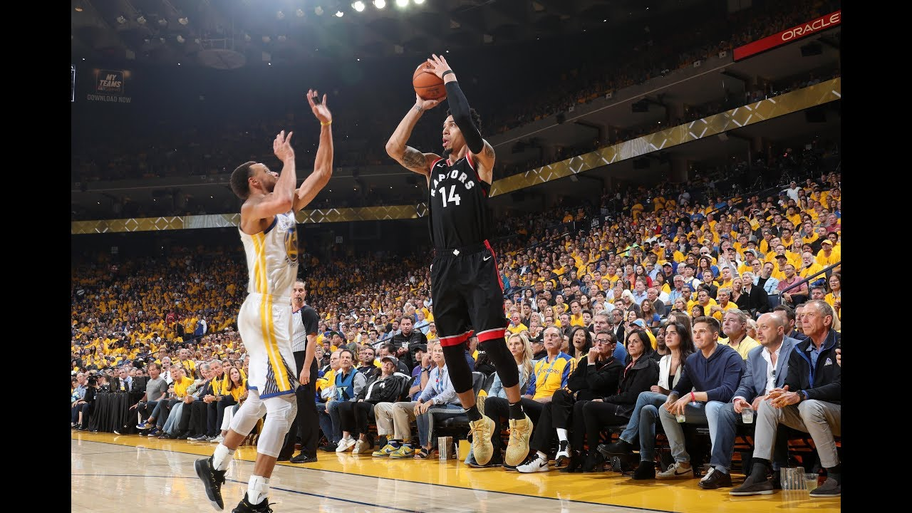 Danny Green Torched The Golden State Warriors In Game 3 Nba Finals Youtube