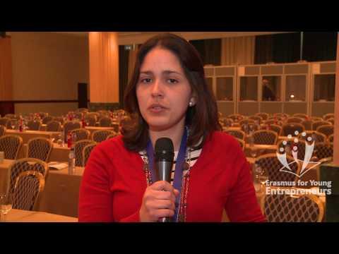 Erasmus for Young Entrepreneurs: Carmen Elisa Eche...