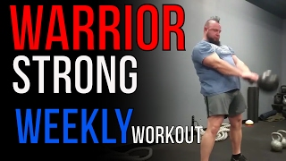 Warrior Strong Training: Workout #1
