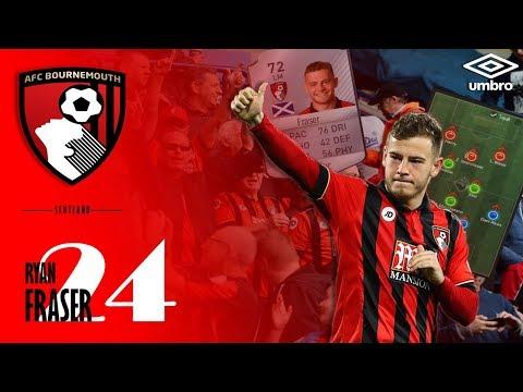 Skills - Ryan Fraser [ Winger ] AFC Bournemouth - English Premier League (EPL)