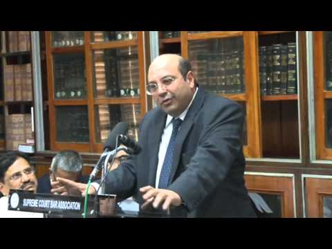 Lecture Of Mr. Justice R.F. Nariman, Judge Supreme Court Of India At SCBA,Part- 3 Of 4