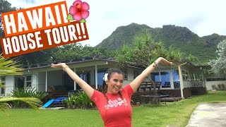 HUGE HAWAII BEACH HOUSE TOUR!!