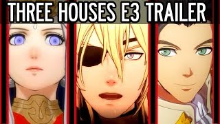 Fire Emblem: Three Houses Nintendo E3 Trailer Full Breakdown, Analysis and Theory.