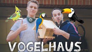 Vogelhaus | Futterhaus selbst gebaut