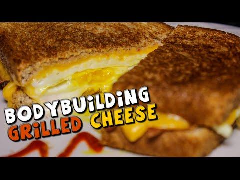 BODYBUILDING Grilled Cheese Sandwich Recipe (High Protein)