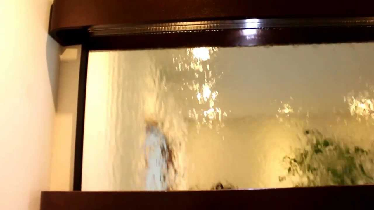 Wall Mounting Mirror Water Fall Fountain A274 - YouTube
