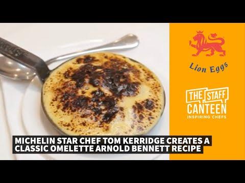2 Michelin Star chef Tom Kerridge creates a classic omelette Arnold Bennett