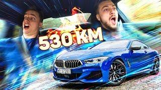 Jeździmy BMW 8 za 700 000 ZŁ  Reakcje na 530 KM mocy