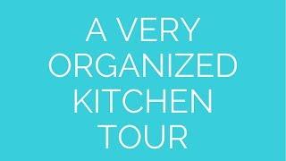 Kitchen Tour Thumbnail