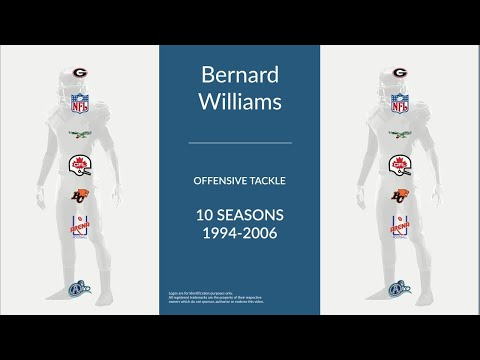 Bernard Williams: Football Offensive Tackle