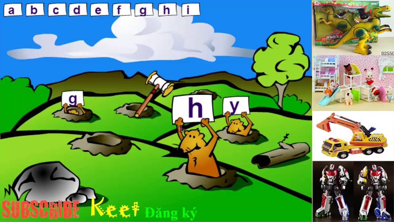 [Keet] Học bảng chữ cái tiếng Anh | alphabet | game vừa chơi vừa học