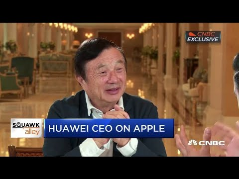 Huawei CEO: We are open to selling 5G chip to Apple
