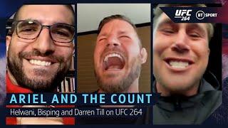 UFC 264 Preview with Ariel Helwani, Darren Till and Michael Bisping   Poirier v McGregor & Euro 2020