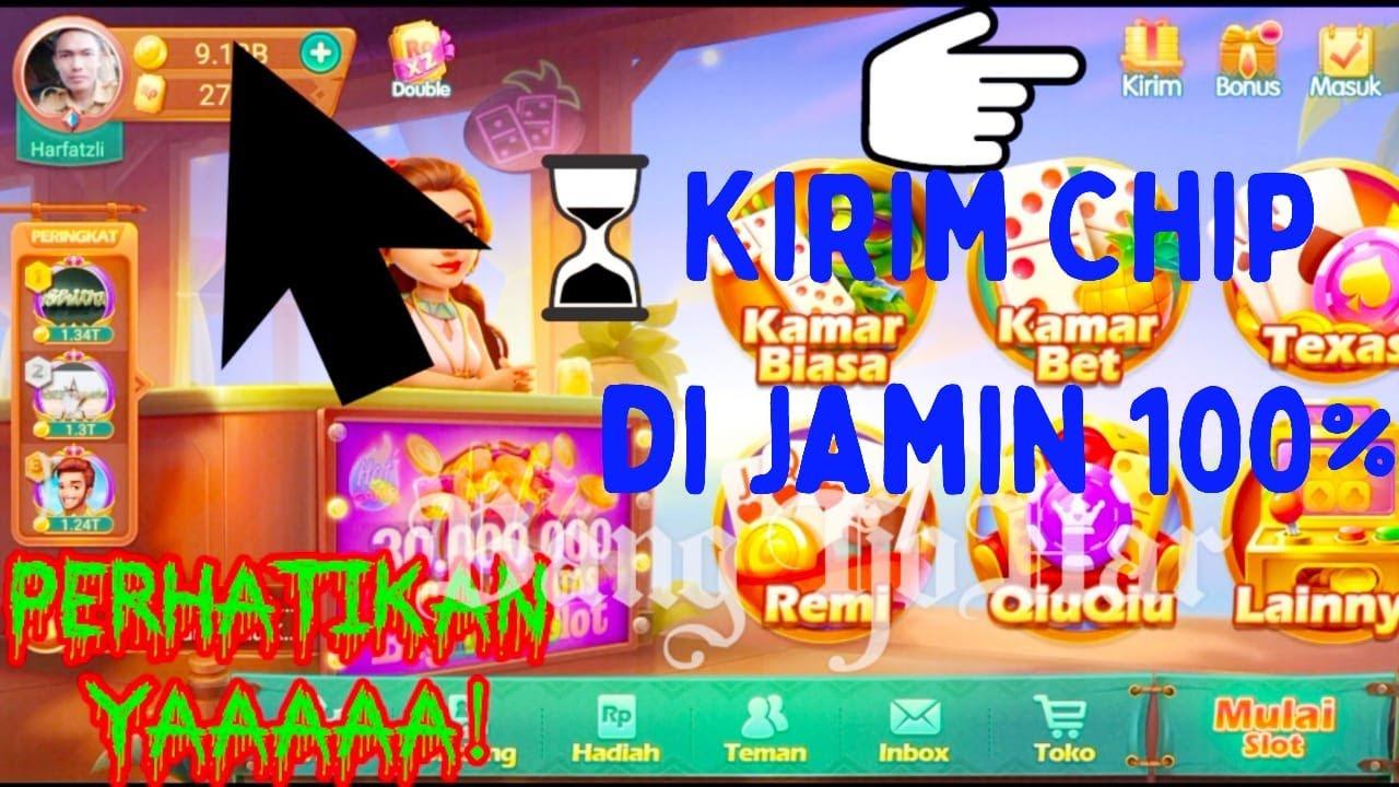 Cara Kirim Chip Higgs Domino Island 100 Youtube