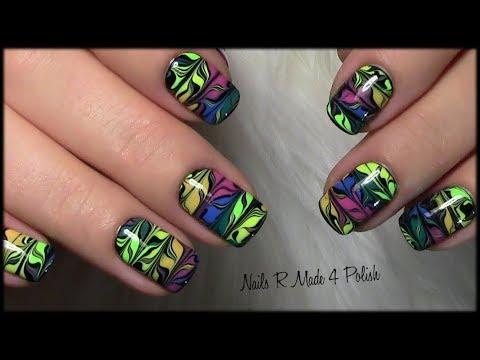 buntes-dry-marble-nageldesign-/-nägel-lackieren-/-nailart-manicure