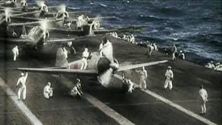 真珠湾攻撃 Attack on Pearl Harbor (カラー映像)