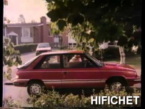AMC Renault Encore - Le journal de Montréal 20 ans - Quebec - 1985