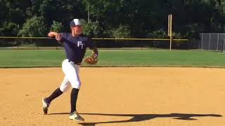 Cristian Corcione Baseball Defensive Highlights