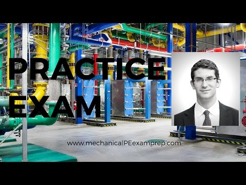 Practice Exam for Mechanical PE Exam HVAC and Refrigeration - Breadth-01