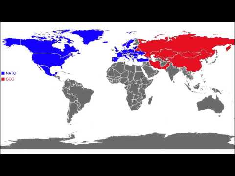 Future Military Alliances In YouTube - Us military allies map