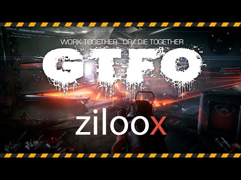 GTFO - прохождение с первой попытки - кооп- стелс-хоррор-шутер - геймплей Gameplay