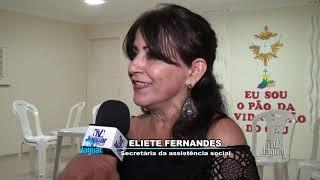 Eliete Fernandes e Adriano Deodato falam do lançamento do livro Bodas de Diamante da Paróquia de Qui