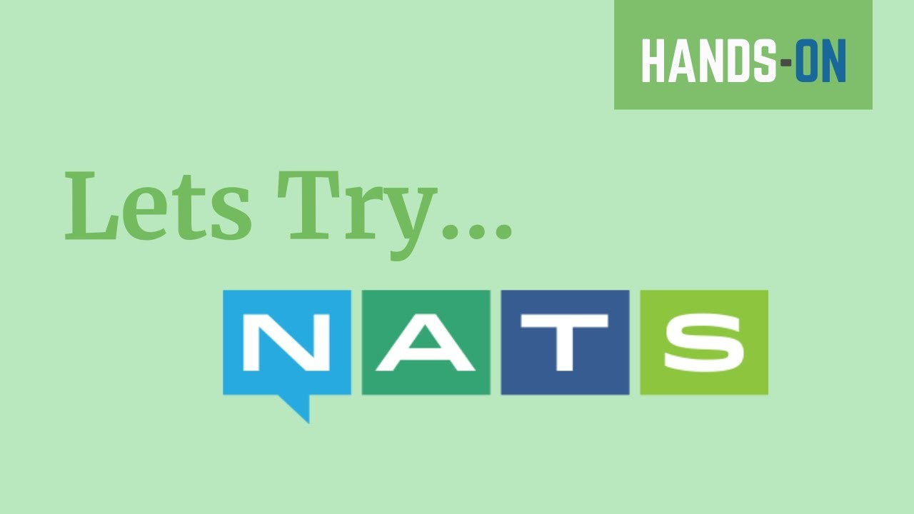 Let's Try NATS | Cloud Native Messaging System | JNats | Tech Primers