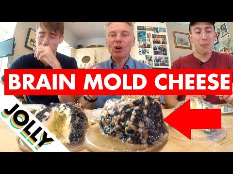 English Gentleman Tries the Stinkiest, Moldiest Cheeses in the World (Still Edible..?)