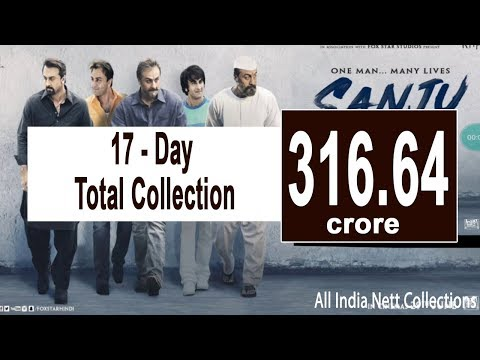 Sanju 17 Day Total Box Office Collection Day Wise | Sanju Third Weekend Collection