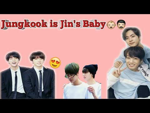 Jungkook is Jin's Baby