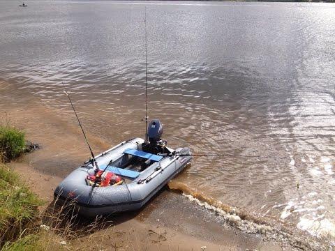 Мотор Yamaha 5 CMHS Ямаха 5лс и лодка Hunter 290 Хантер 290 обкатка