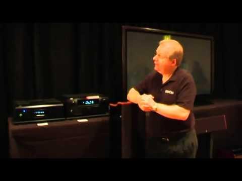 Denon AVR-4810 AV Receiver in demo