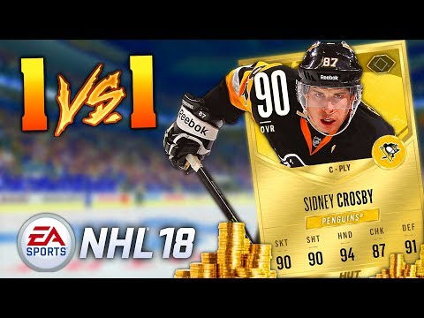 Betting My Sidney Crosby! (NHL 18 Hockey Ultimate Team 1V1 Funny Moments) Intense Game! - MatMicMar