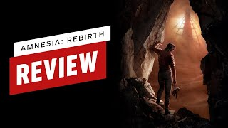 Amnesia: Rebirth Review (Video Game Video Review)