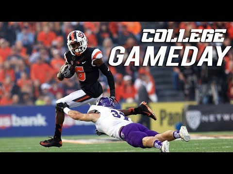 Whats A College Gameday Like?! vs BOISE STATE