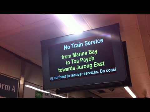 Newton MRT Fire | SMRT Train Disruption AGAIN On Feb 13 - No Service Between Marina And Toa Payoh