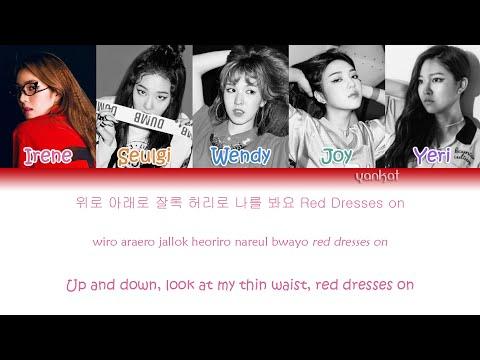 Red Velvet - Red Dress (Color Coded Han|Rom|Eng Lyrics)