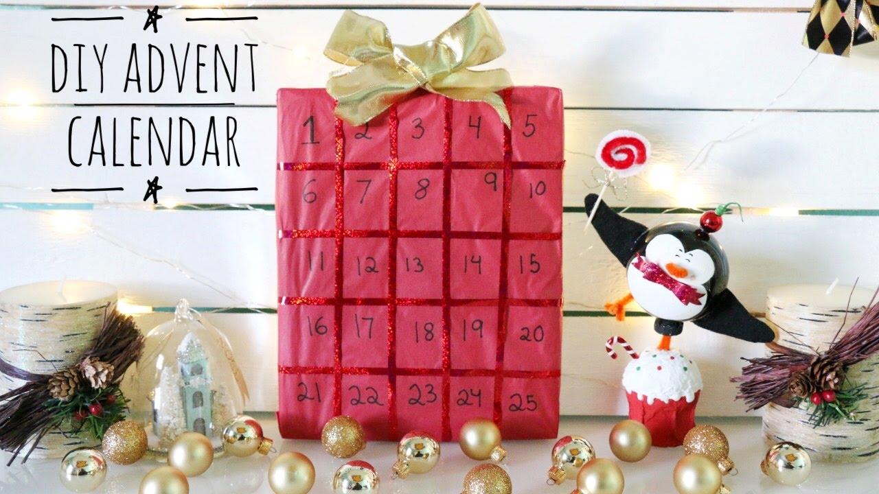 Easy Diy Advent Calendar You