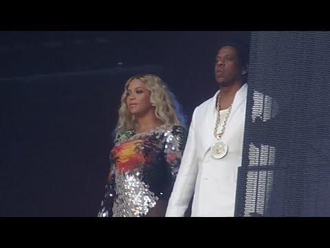 Beyoncé & JayZ  Opening + Holy Grail  in Paris, On The Run Tour II Stade de France, July 15