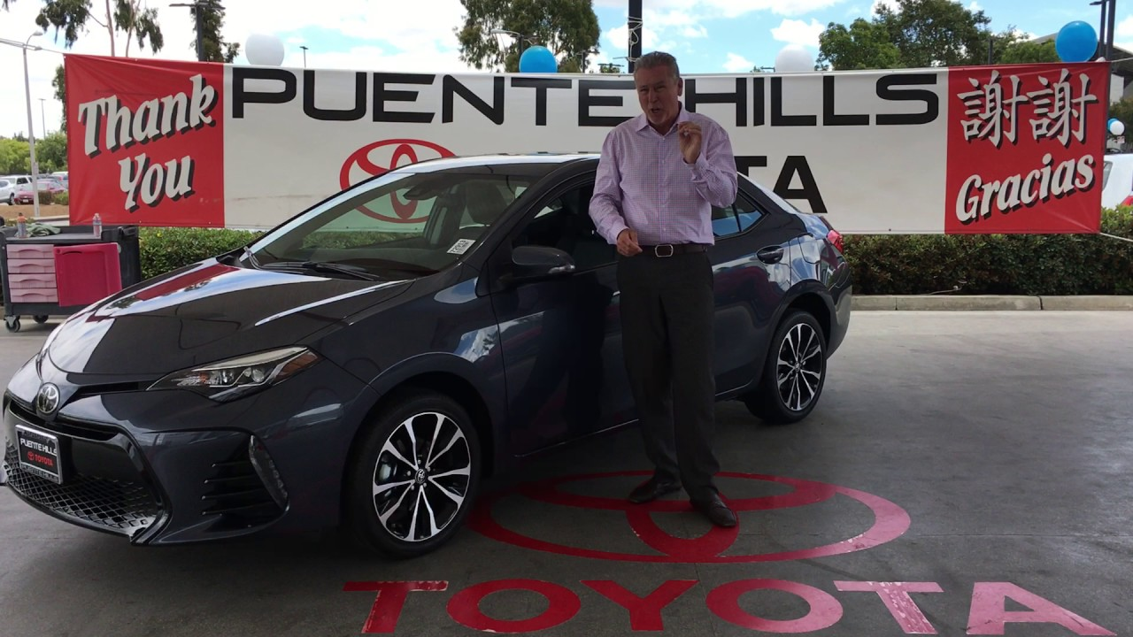 2017 Toyota Corolla S Plus At Puente Hills Toyota.