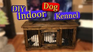 How To Build An Indoor Dog Kennel (DIY)