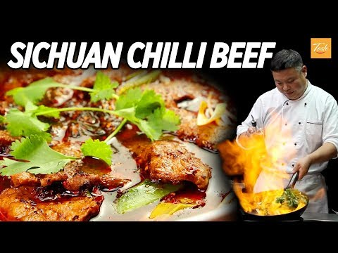 Mouthwatering Szechuan Beef  • Sichuan Recipe • Taste, The Chinese Recipes Show