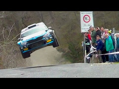 Rally Sanremo 2018 SUPER JUMPS  and Amazing ᴴᴰ