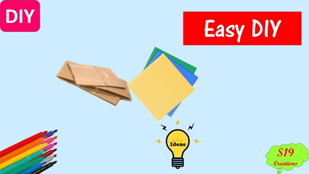 Easy Craft Idea Best Out Of Waste Paper Crafts Diy Arts And