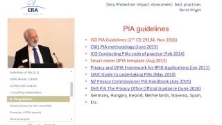 Data Protection Impact Assessment: Best Practices