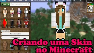 Como trocar mudar e colocar SKIN Minecraft Original