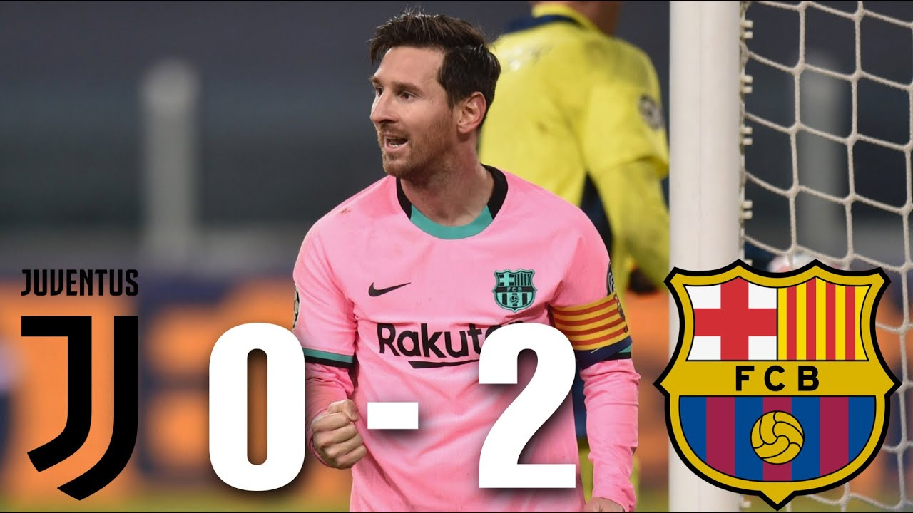 Juventus Vs Barcelona 0 2 Champions League Group Stage 2020 21 Match Review Youtube