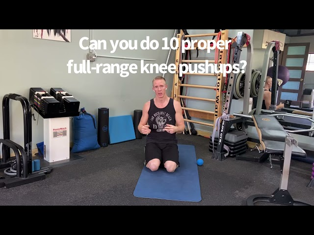 Perform a Correct Push-up