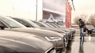 Тест драйв Audi  А6, Киев 2011