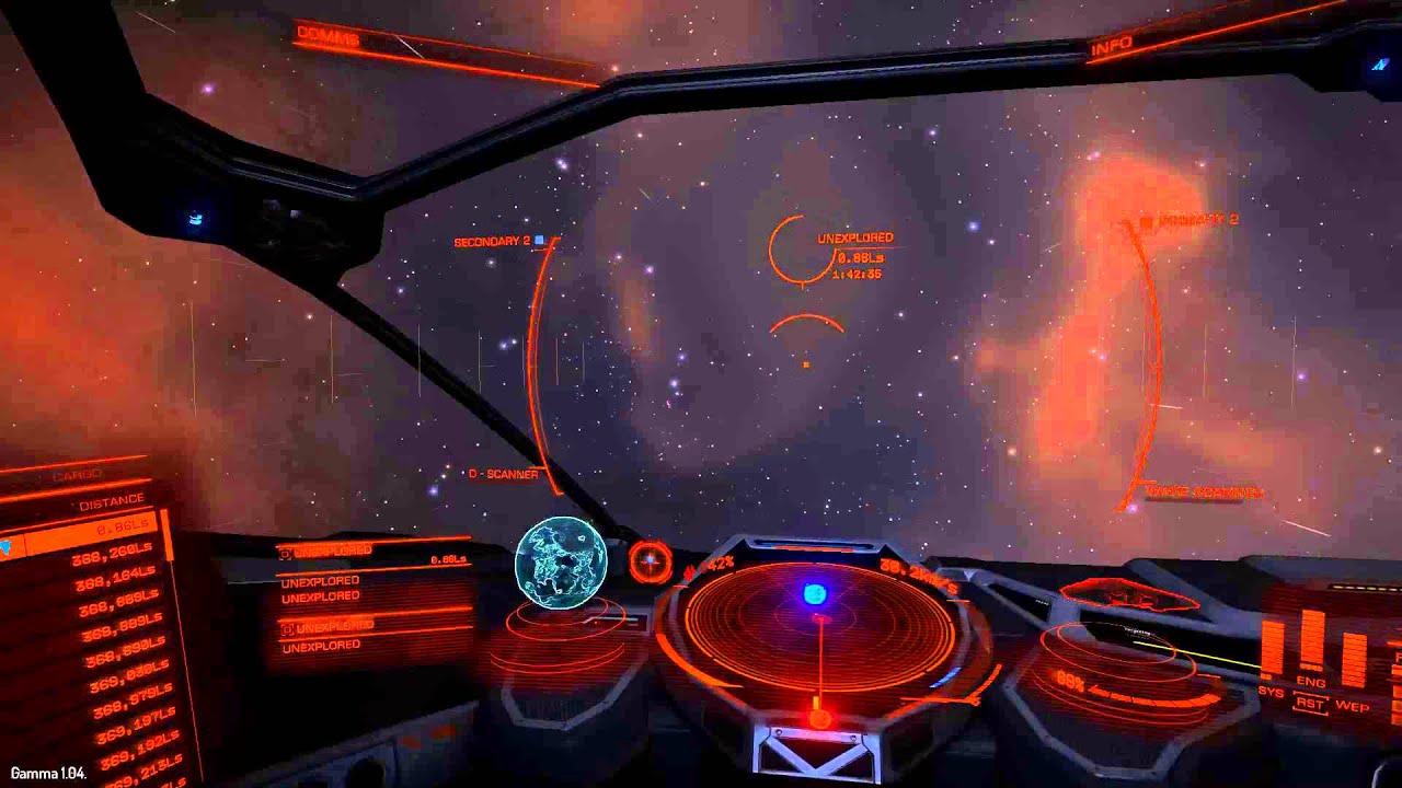 Elite Dangerous - Black Hole in Maia system - YouTube